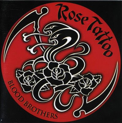 ROSE TATTOO - Rare Blooms (1978-1982) Australia ROSE TATTOO - BLOOD BROTHERS