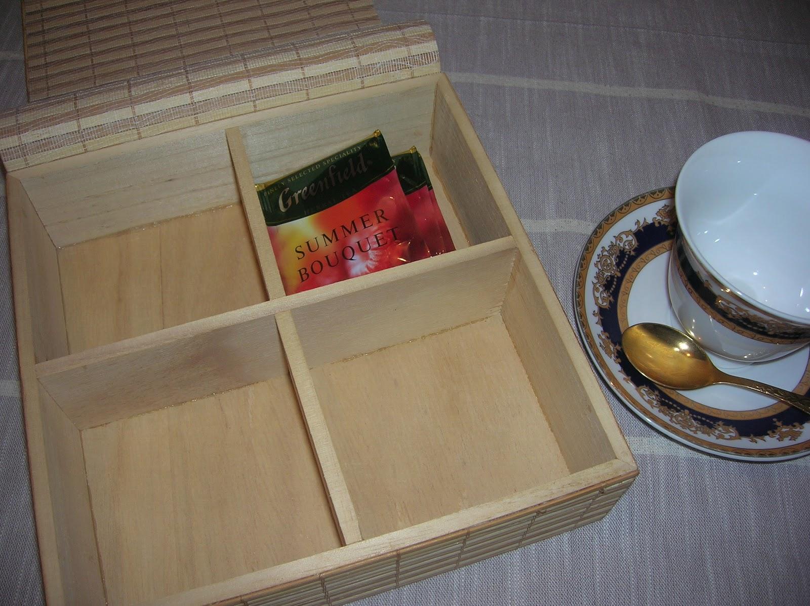 Коробка для чая в пакетиках своими руками 12