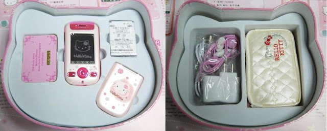 hello kitty touch screen handphone review, shopping