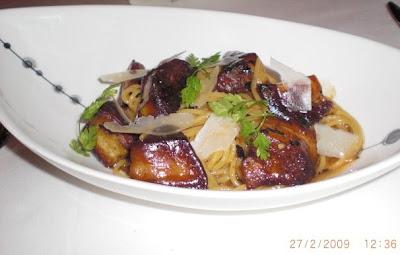 harbour grill oyster bar singapore foie gras pasta