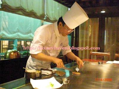 hama steak house ginza tokyo teppanyaki