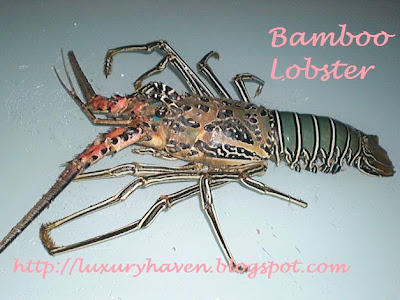 bamboo lobsters recipe