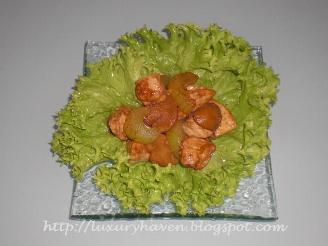 Healthy Celery Chicken Recipe
