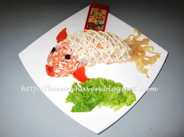 chinese new year goldfish salad recipe