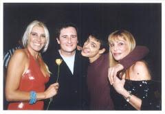 con Sandra Smith, Lyonel Pecoraro y Elena Casal