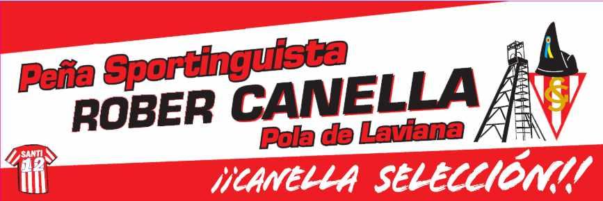 PEÑA SPORTINGUISTA ROBERTO CANELLA