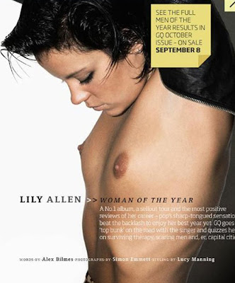 Lily Allen On Cover Of GQ UK