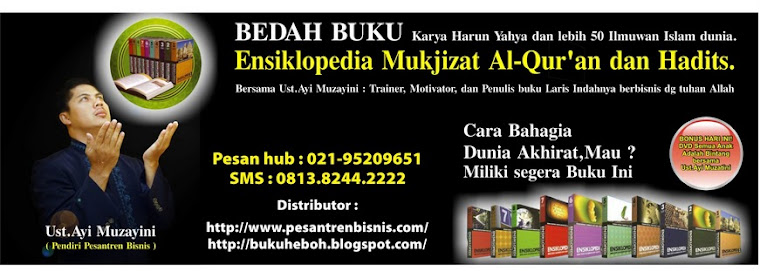 Ensiklopedia Mukjizat Al-Qur'an paling Dahsyat abad ini, karya Harun Yahya dan 50 ilmuwan dunia