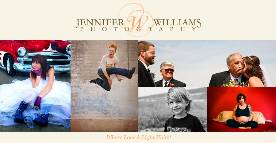 The Photography of Jennifer Williams - Where Love and Light Unite