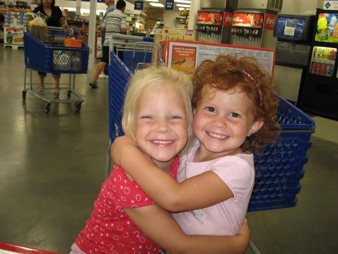 Abby & her friend Kylee.