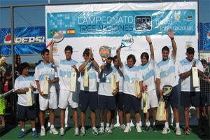 Campeones del Tres Naciones de Pádel, Argentina 2008