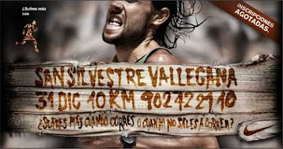 Cartel de la San Silvestre Vallecana