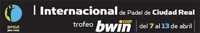 Portada del Internacional de Padel de Ciudad Real