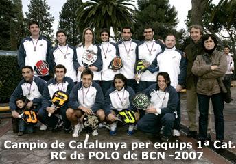 ganadores del campeonato catalunya padel equipos