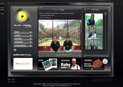 Nueva web de pádel Play-Padel