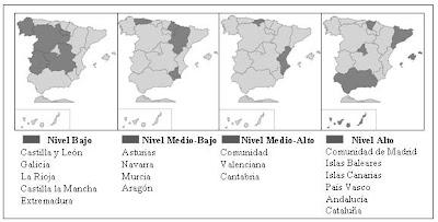 Oferta de pistas de pádel en las Comunidades Autónomas en España