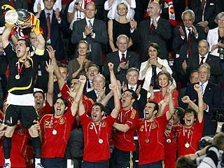 España Campeona de Europa de futbol 2008