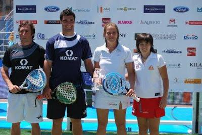 ganadores del internacional de pádel de Valladolid