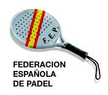 Logotipo de la Federación Española de Pádel
