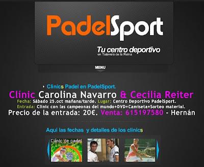 Clinic de Carolina Navarro y Cecilia Reiter en Talavera
