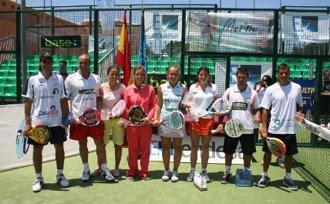 Campeones de España de pádel 2009