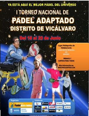 Torneo Nacional Padel Adaptado Silla Ruedas I Torneo Nacional de Padel en Silla de Ruedas
