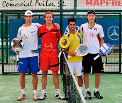 Campeones de España Sub 23 de pádel