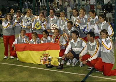 España campeona del mundo de pádel 2010