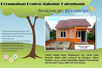 Housing Palembang: PERUMAHAN KENTEN MAKMUR