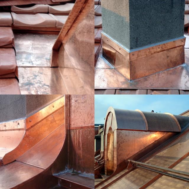 rénovation cuivre et tuile Joran