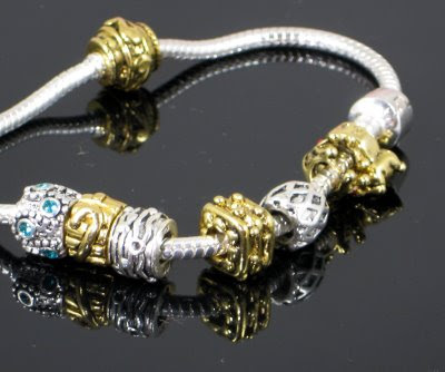 CLIM pandora beads & charms with 925 sterling hallmark - some have 14kt Gold EP & genuine swarovski crystals