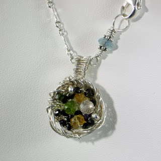 Nest pendant from Gahooletree/Oracle Gem Designs