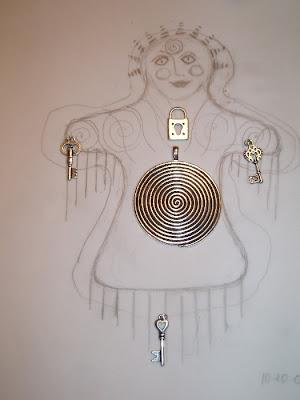 art dolls,spirit dolls,shaman dolls,healing dolls,process art,jungian art