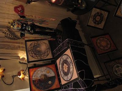 angels, art dolls, healing dolls, altars, bead embroidery, beading, camilla la mer, hysterectomy, jungian art, jungian psychology, shaman dolls, spirit dolls