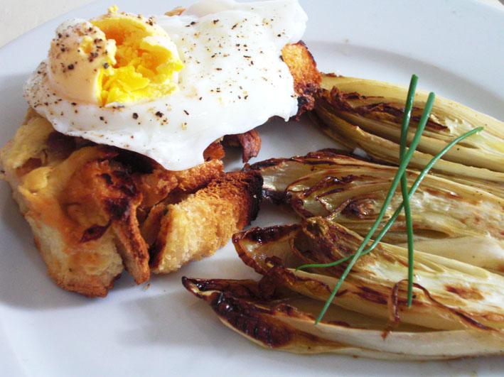 Lola-Lu's Kitchen: Grilled Endive with Cumin & Lavendar Oil