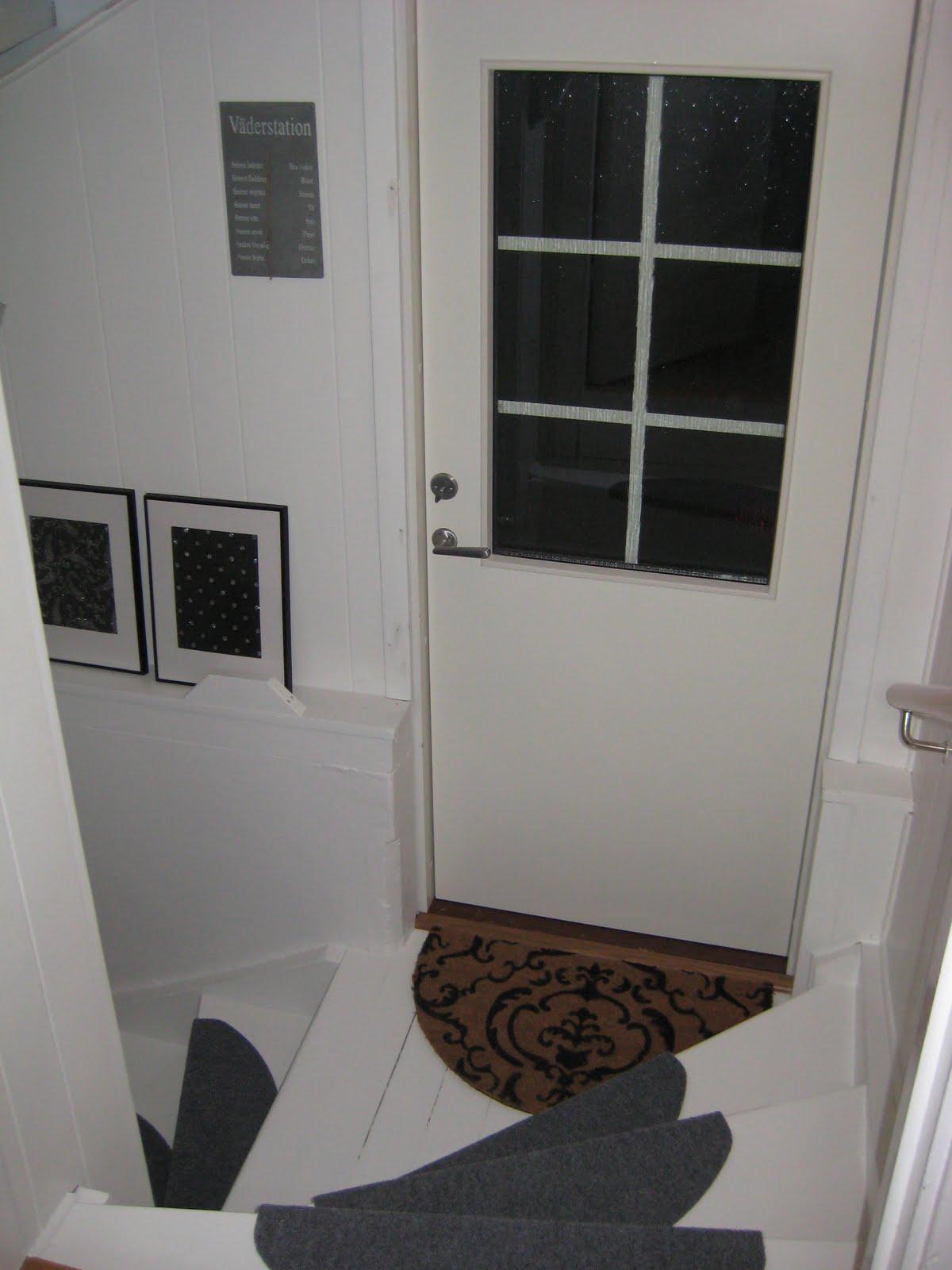 Ett hus för oss: lite mer trappa
