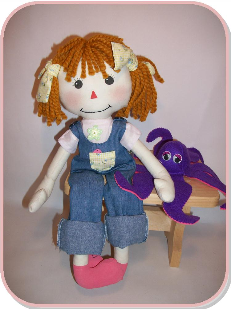Rag Doll Pattern PDF by ShinyHappyWorld on Etsy
