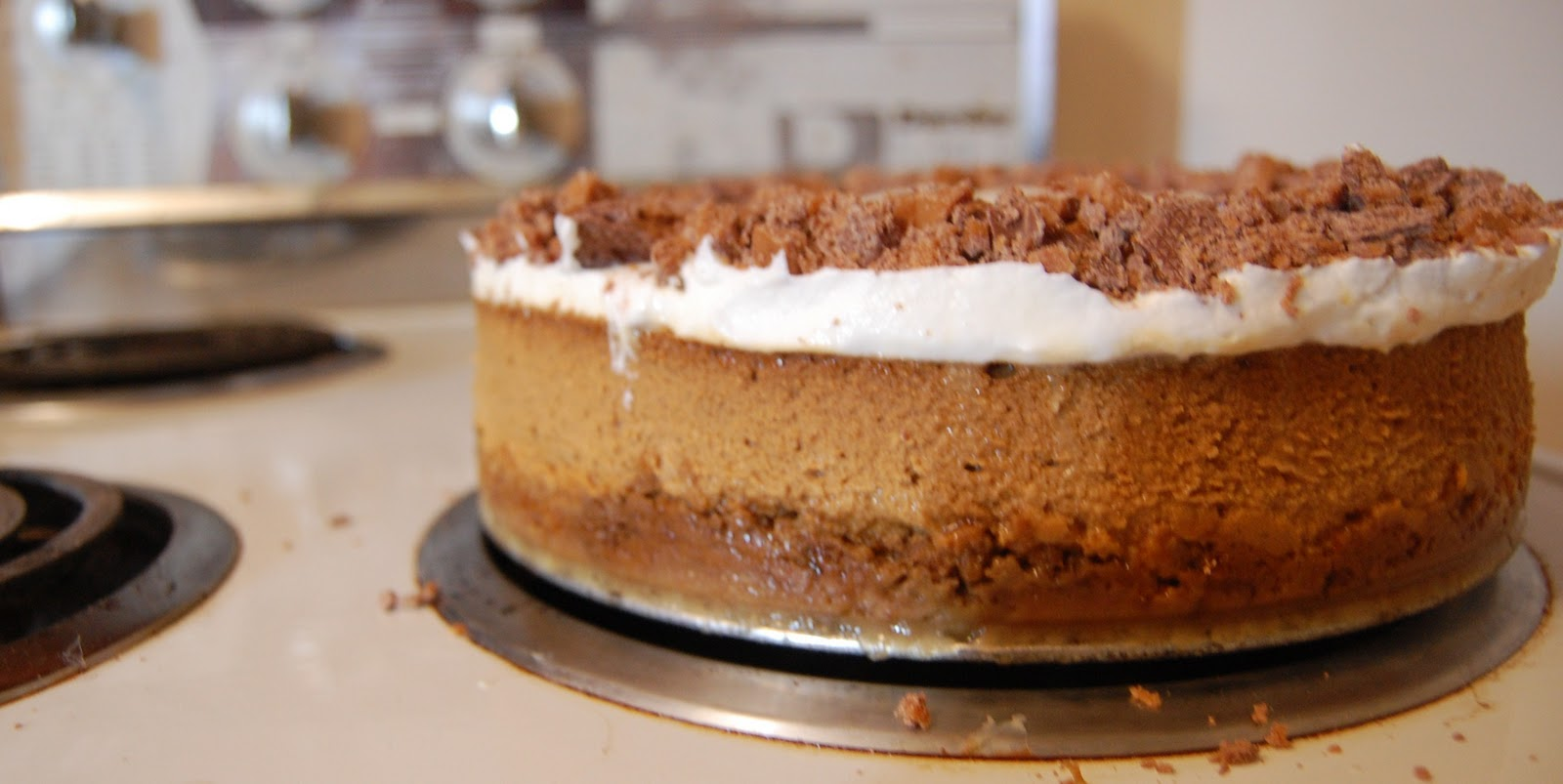 Make it n Take it: Gingerbread Cheesecake