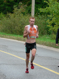 Muskoka 70.3 - Richie in second