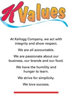 kellogg company mission statement