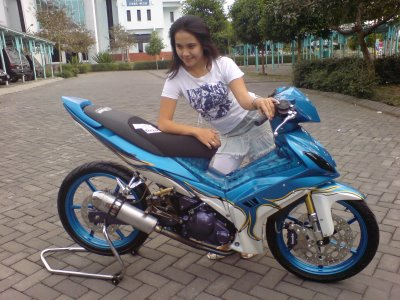 Modifikasi Jupiter Mx Jadi Cross