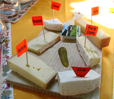 local cheeses in Gruyère