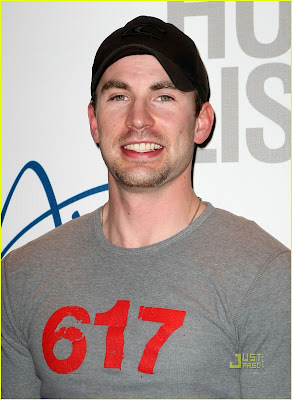 Chris Evans Hot Photo