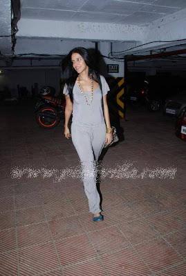 Neha Dhupia wear A Jumpsuit