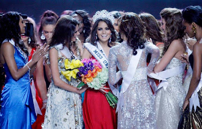 Miss Mexico Jimena Navarrete is Miss Unverse 2010