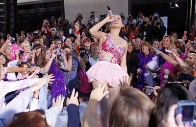 Katy Perry Performs at NBC's Today Show