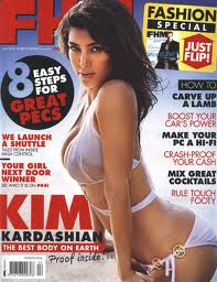 Kim Kardashian Allure Magazine Cover Photo September 2010
