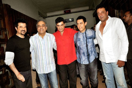 Double Dhamal Movie Launched Event with present of Anil Kapoor and Aamir Khan