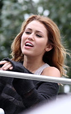Miley Cyrus continuing along with her stay in Paris, France