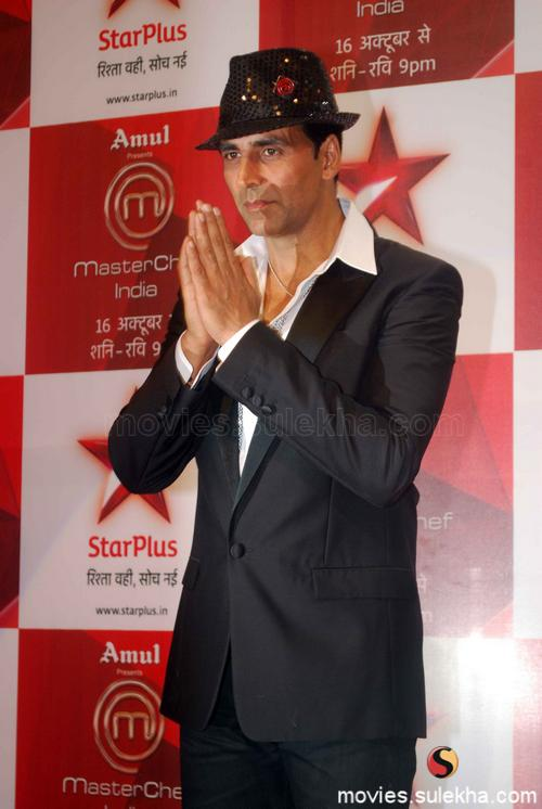 Akshay Kumar at 'Master Chef India' wallpaper